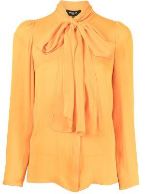 Шелковая блузка - оранжевая Paule Ka