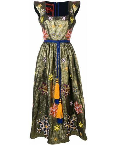 Платье мини короткое - желтое Yuliya Magdych