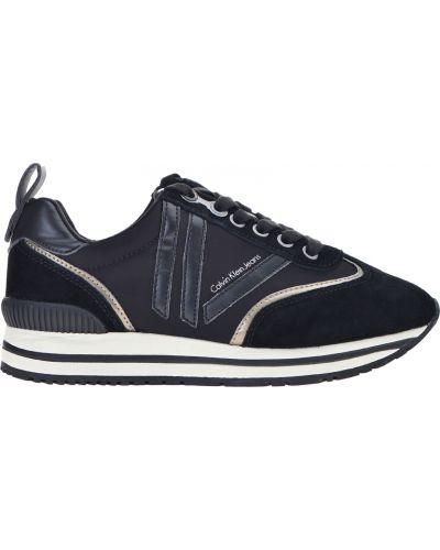 Черные кроссовки Calvin Klein Jeans