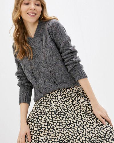 Серый пуловер Zabaione