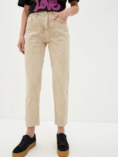 Зауженные джинсы - бежевые Pink Woman