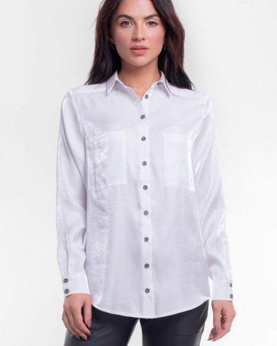 Белая рубашка с длинными рукавами Bessa