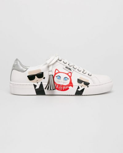 Кроссовки на шнуровке городские Karl Lagerfeld