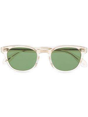 Солнцезащитные очки квадратные хаки Oliver Peoples