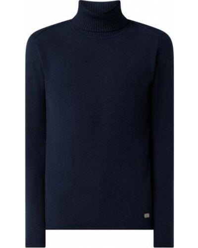 Sweter wełniany - niebieski Joop! Jeans
