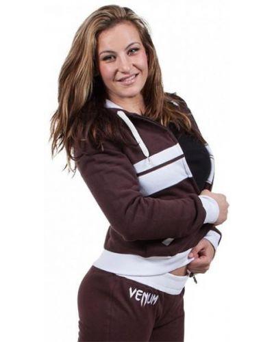 Коричневая кофта для фитнеса Venum