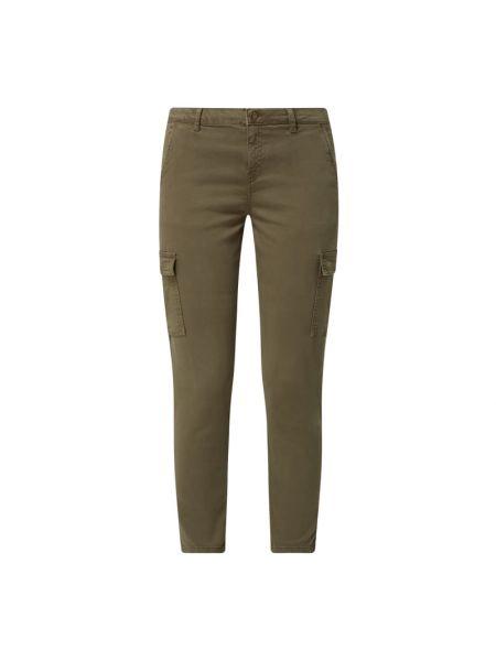 Zielone spodnie bawełniane Soyaconcept