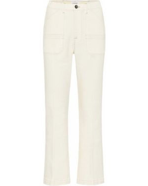 Расклешенные джинсы стрейч mom Frame