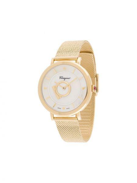 Zegarek do twarzy metal Salvatore Ferragamo Watches