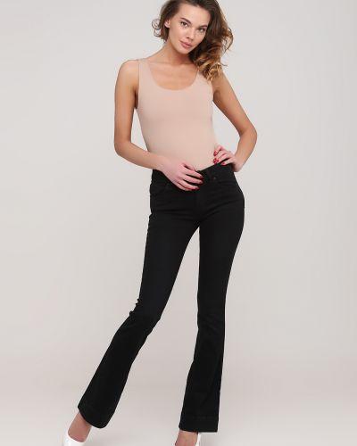 Черные джинсы с карманами Kookai