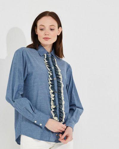Синяя блузка Twin-set Simona Barbieri