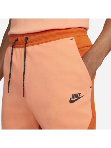Joggery - pomarańczowe Nike