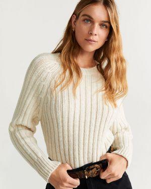 Sweter z wzorem z raglanowymi rękawami Mango