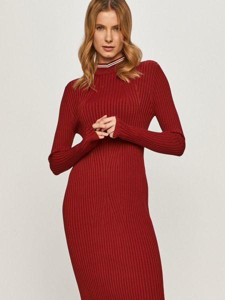 Облегающее трикотажное красное платье G-star Raw