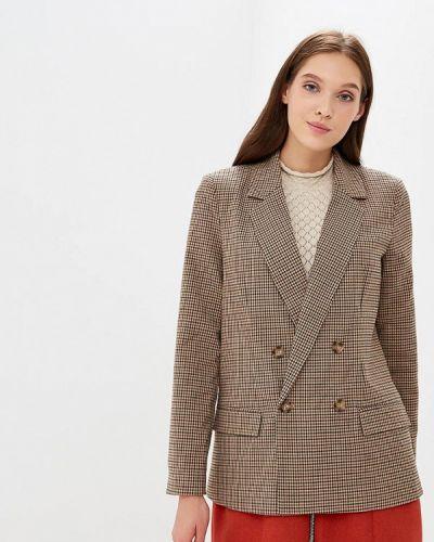 Коричневый пиджак осенний Vero Moda