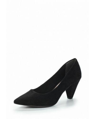 Туфли на каблуке велюровые Tamaris