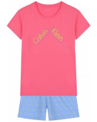 Пижама с шортами с короткими рукавами Calvin Klein Underwear
