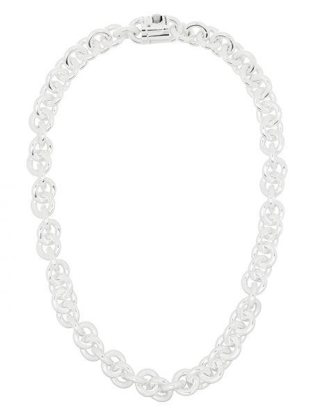 Серебряное ожерелье металлическое Le Gramme