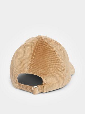 Джинсовая кепка - коричневая Marc O'polo Denim