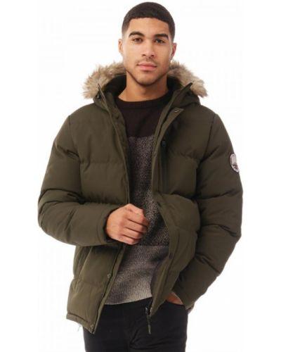 Куртка - зеленая Threadbare