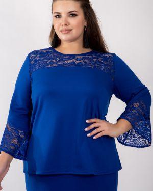 Блузка с поясом вечерняя Belirini