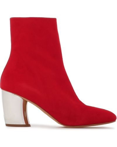 Ankle boots zamszowe na obcasie Proenza Schouler