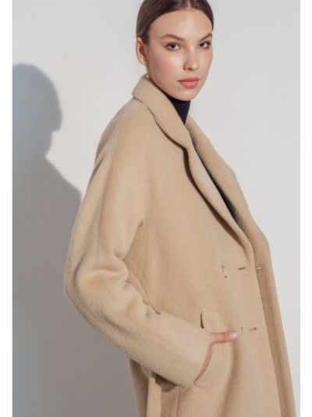 Пальто casual - бежевое Mariolli