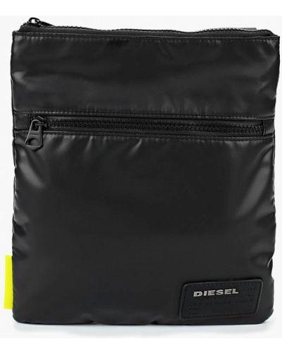 Черная сумка через плечо Diesel
