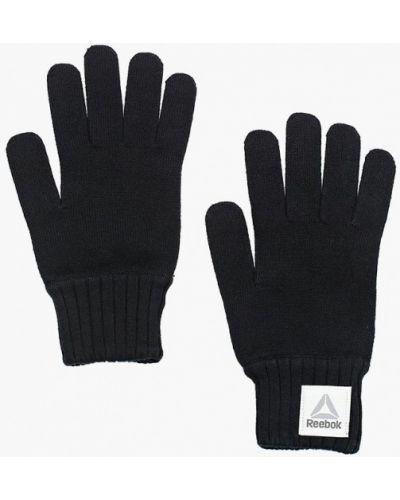 Перчатки черные Reebok