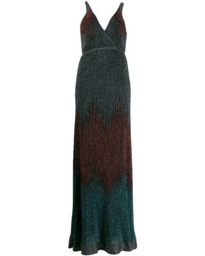 Платье макси с завышенной талией с V-образным вырезом Missoni