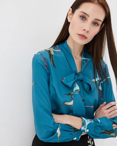 Блузка бирюзовая весенний Ted Baker London