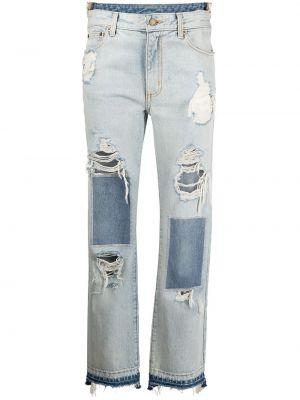 Прямые джинсы классические - синие Monse