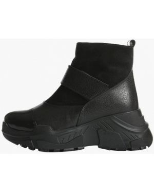 Черные высокие кроссовки Vm-villomi