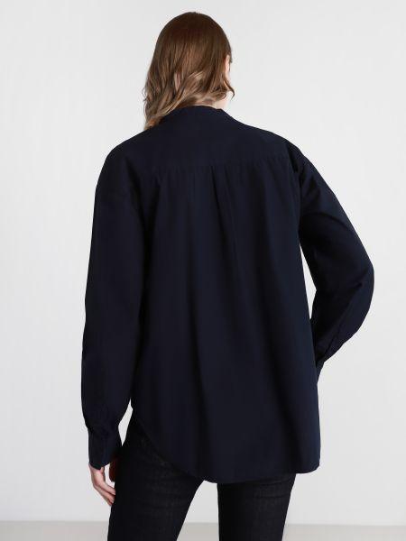 Свободная синяя рубашка с длинными рукавами Napapijri