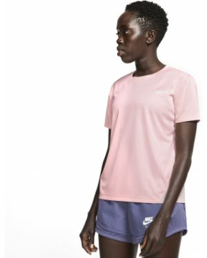 Różowe polo Nike