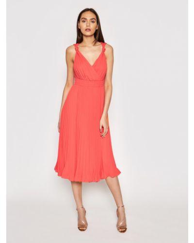 Czerwona sukienka wieczorowa Marciano Guess