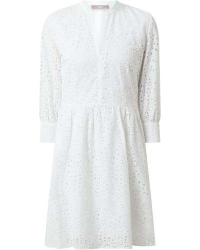 Biała sukienka rozkloszowana bawełniana Jake*s Collection