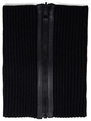 Komin wełniany - czarny Reebok X Victoria Beckham