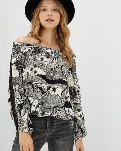 Блузка с открытыми плечами Desigual