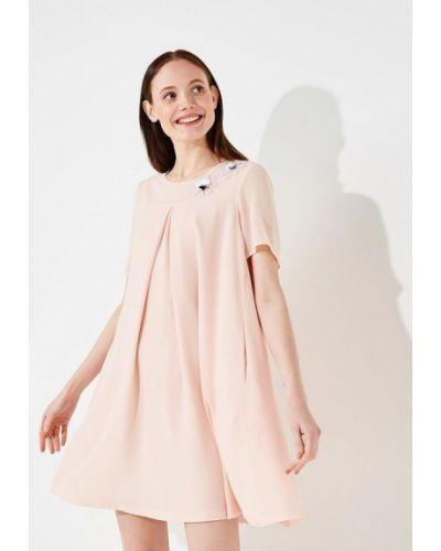 Повседневное розовое платье Alessandro Dell'acqua