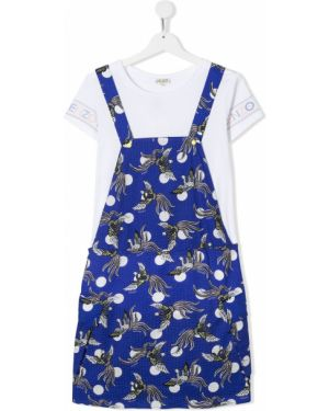 Sukienka koszulowa sukienka koszula Kenzo Kids