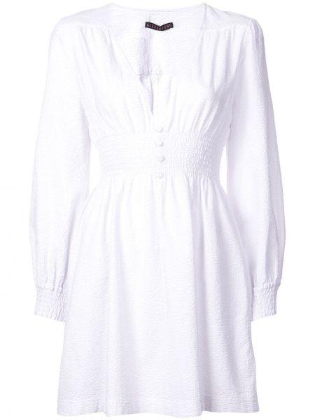Расклешенное платье мини на молнии Alexa Chung
