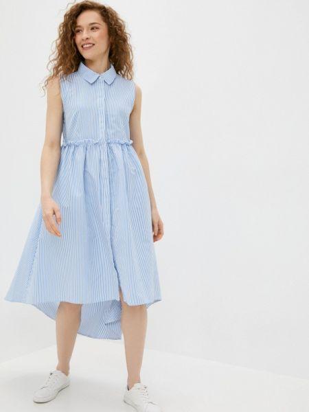 Платье - голубое Sh