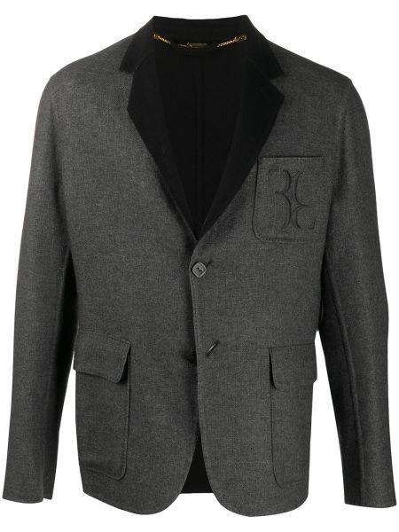 Пиджак с вышивкой на пуговицах с манжетами с карманами Billionaire