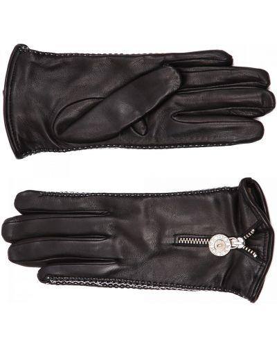 Черные трикотажные перчатки Principe Di Bologna