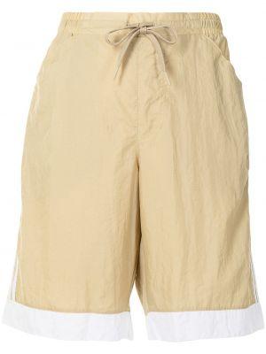 Шорты милитари - коричневые Adidas