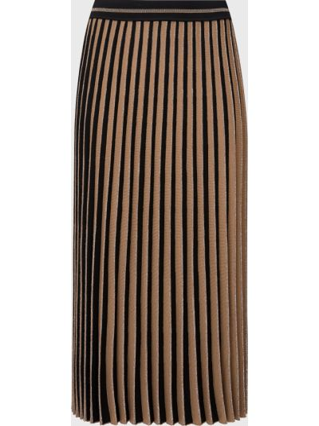Шерстяная черная юбка D.exterior