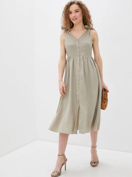 Платье прямое бежевое Savage