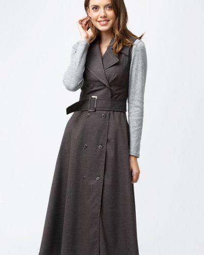 Платье с запахом осеннее Evercode