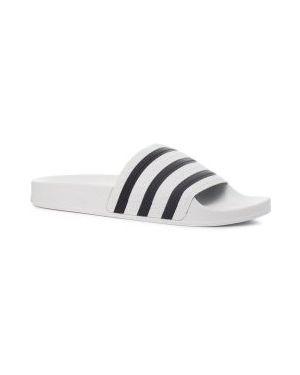 Шлепанцы белые Adidas